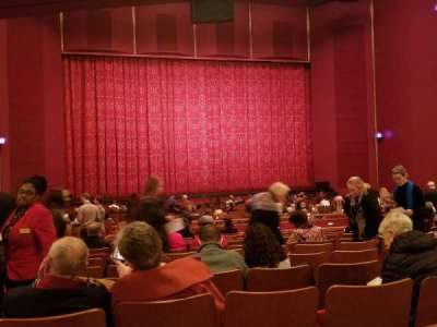 The Kennedy Center Opera House, section: Orchestra C, row: DD, seat: 130