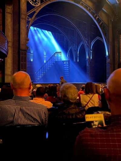 Curran Theater, section: Orchestra L, row: K, seat: 15