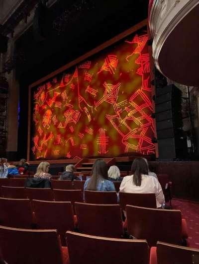 Edinburgh Playhouse, section: Stalls, row: J, seat: 3