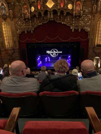 The Fabulous Fox Theatre (St. Louis), section: Lower Balcony 4, row: J, seat: 110