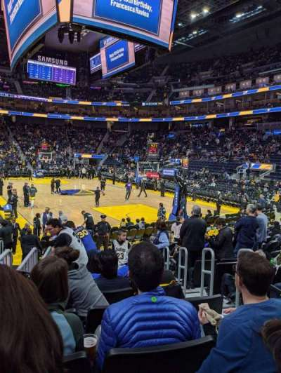 Chase Center section 123