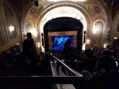 Paramount Theatre (Seattle) section Mezzanine 34