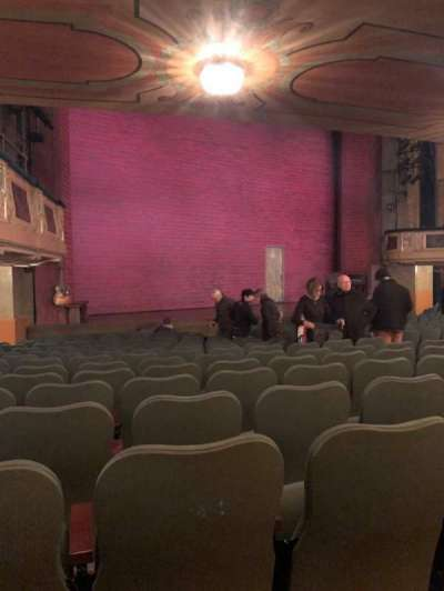 Shubert Theatre section Orchestra L