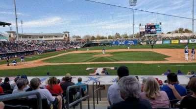 Surprise Stadium, section: 110, row: M, seat: 1
