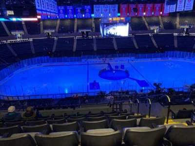 Nassau Veterans Memorial Coliseum section 204