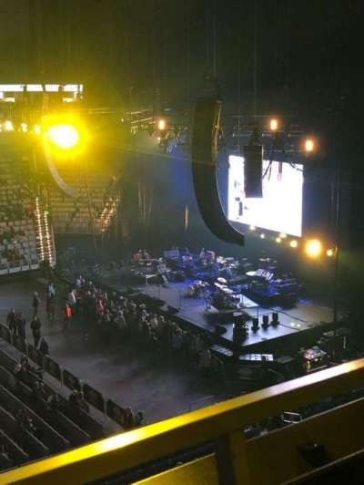 Dickies Arena, section: 206, row: 1, seat: 13