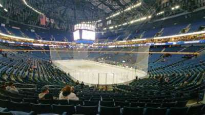 KeyBank Center, section: 113, row: 23, seat: 7