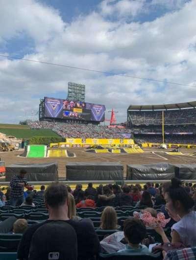 Angel Stadium, section: F105, row: Z, seat: 9