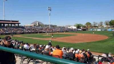 Scottsdale Stadium, section: 216, row: J, seat: 3
