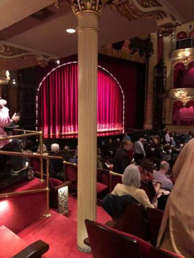 Academy of Music, section: Parquet Circle H, row: W, seat: 51