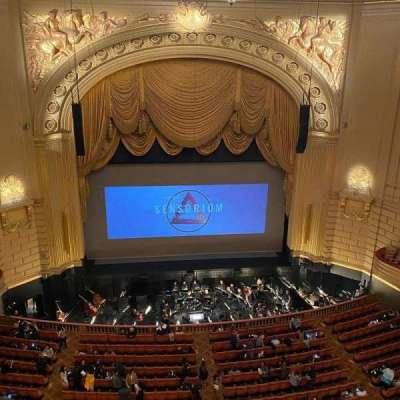 War Memorial Opera House, section: Balcony Circle, row: A, seat: 101