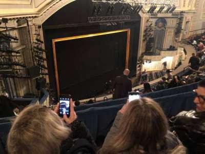 Ambassador Theatre, section: Rear Mezzanine L, row: B, seat: 17