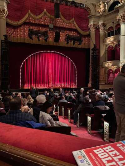 Academy of Music, section: Parquet Box 20, seat: 2
