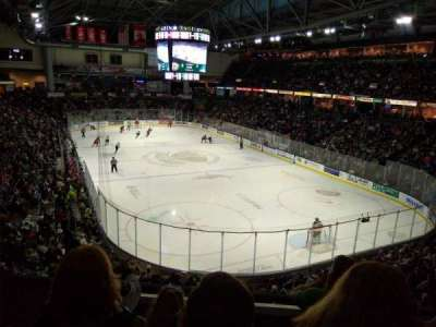 Angel of the Winds Arena, section: 201, row: 201, seat: 17