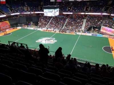 Mohegan Sun Arena, section: 116, row: M, seat: 20