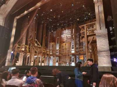 Orpheum Theatre (San Francisco), section: Orchestra R, row: E, seat: 2