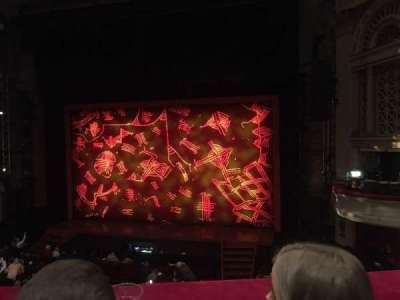 Edinburgh Playhouse , section: Circle, row: B, seat: 16