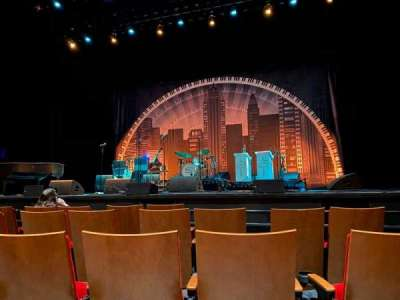Durham Performing Arts Center, section: Orchestra 1, row: C, seat: 111