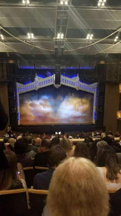 Ahmanson Theatre, section: Mezzanine, row: H, seat: 26