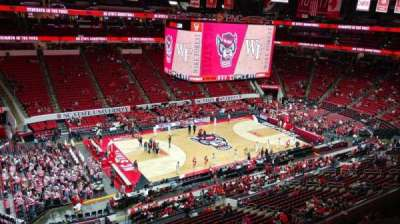PNC Arena, section: 306, row: A, seat: 23