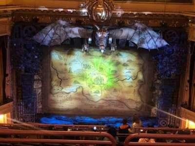 Hippodrome Theatre, section: Center Upper Balcony, row: O, seat: 310