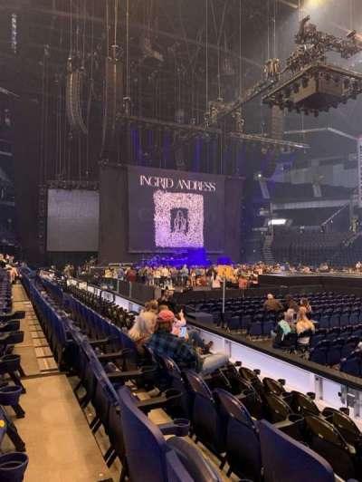 Bridgestone Arena section 116