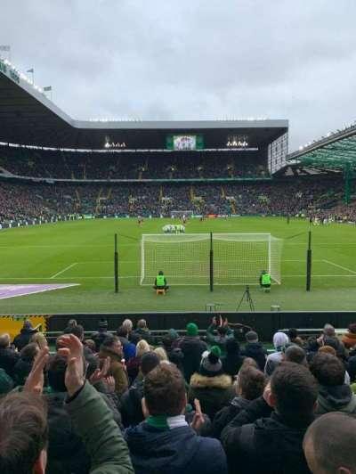 Celtic Park, section: 140, row: K, seat: 5