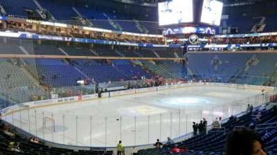 KeyBank Center, section: 121, row: 22, seat: 1
