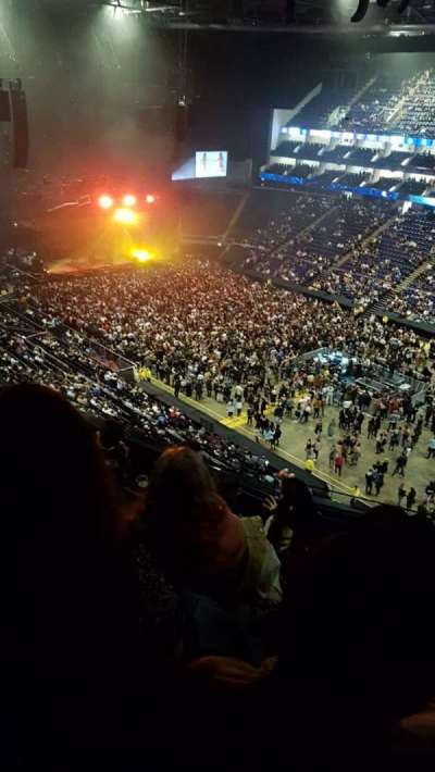 The O2 Arena section 407