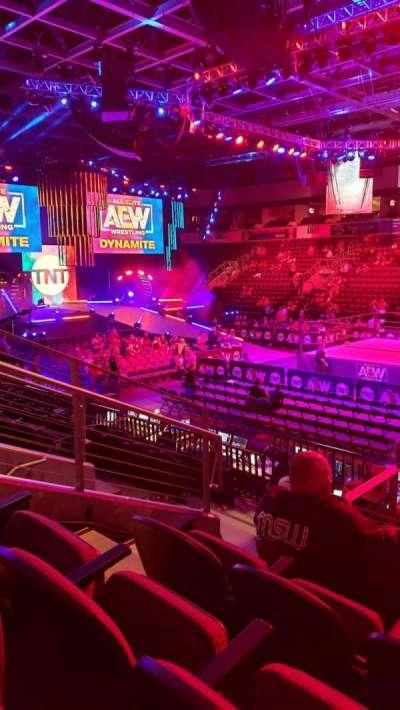 Silverstein Eye Centers Arena, section: 107, row: K, seat: 11