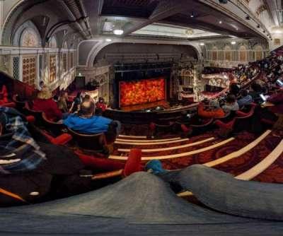 Edinburgh Playhouse, section: Balcony, row: K, seat: 46