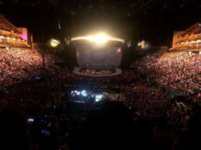 The O2 Arena section 107