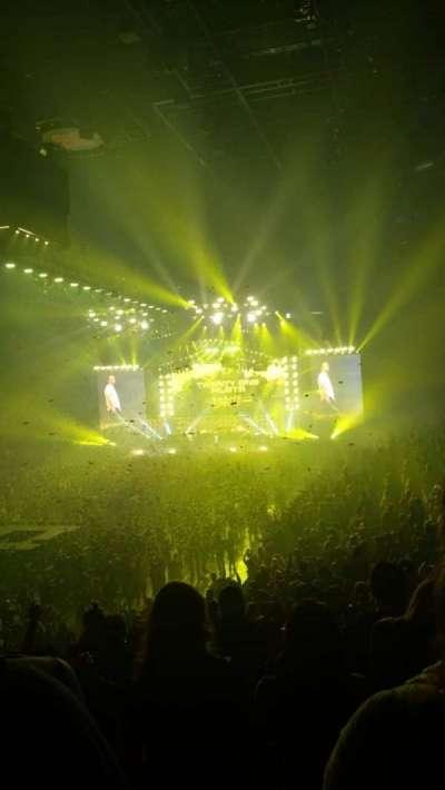Pinnacle Bank Arena, section: 110, row: 24, seat: 3