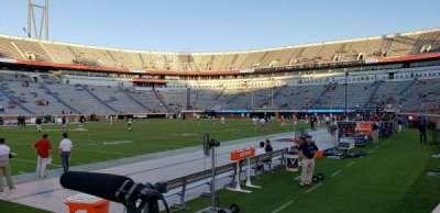Scott Stadium, section: 128, row: B, seat: 1