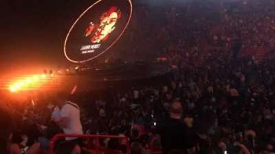 American Airlines Arena, section: 118, row: 18, seat: 16