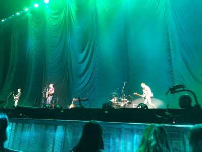 The O2 Arena, section: Floor A3, row: 3, seat: 45