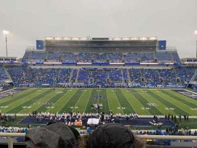 Kroger Field, section: 206, row: 3, seat: 17