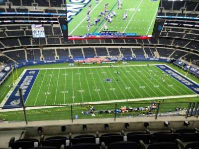 AT&T Stadium, section: 444, row: 12, seat: 18