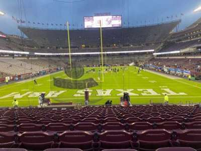 Kyle Field, section: 117, row: 22, seat: 11
