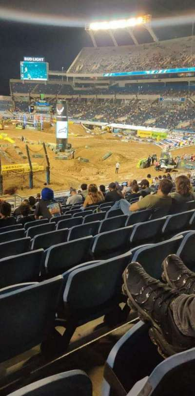 Camping World Stadium, section: 123, row: Cc, seat: 35
