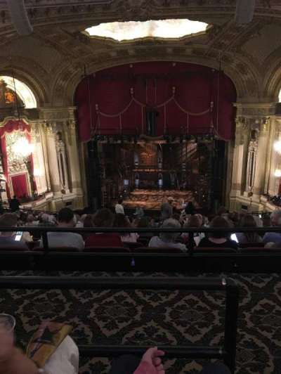 Citizens Bank Opera House, section: Balcony C, row: Q, seat: 101