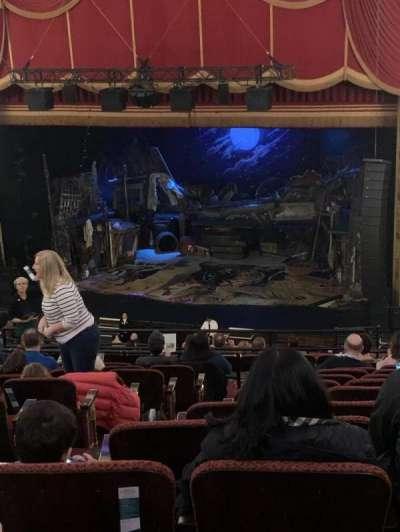 Citizens Bank Opera House, section: Mezzanine R, row: L, seat: 8