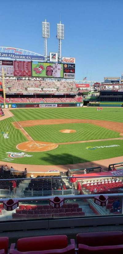 Great American Ball Park, section: 226, row: C, seat: 1