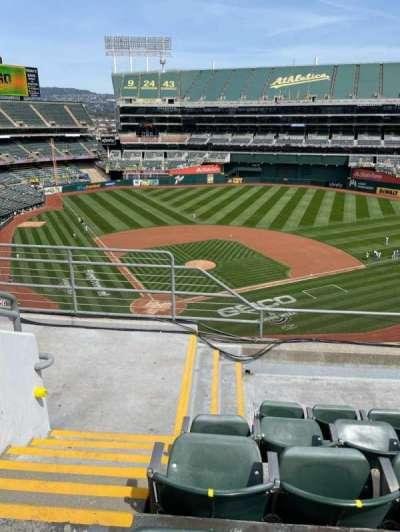 Oakland Coliseum, section: 315, row: 5, seat: 16