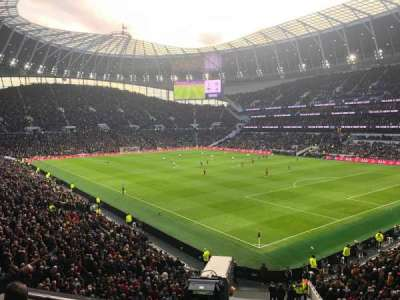 Tottenham Hotspur Stadium, section: 424, row: 5, seat: 500