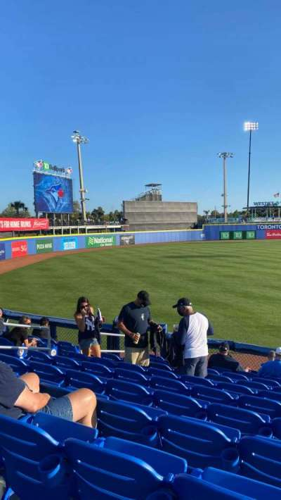 TD Ballpark, section: 115, row: 12, seat: 10