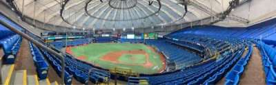 Tropicana Field, section: 307, row: S, seat: 2