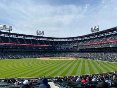 Guaranteed Rate Field, section: 163, row: 25, seat: 1