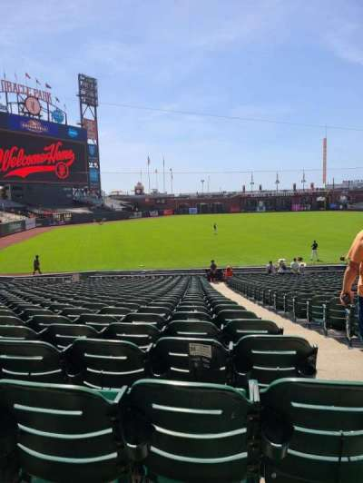 Oracle Park, section: 130, row: 30, seat: 2