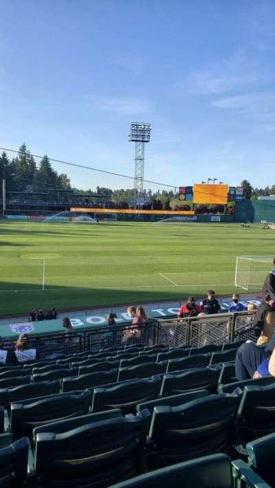 Cheney Stadium, section: M, row: 9, seat: 12
